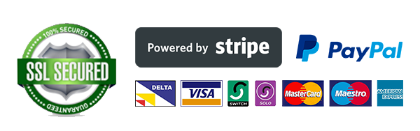 secure payments with Stripe and PayPal